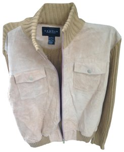 Cactus beige Leather Jacket