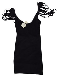 KNT by Kova short dress Black on Tradesy