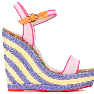 Sophia Webster pink Wedges