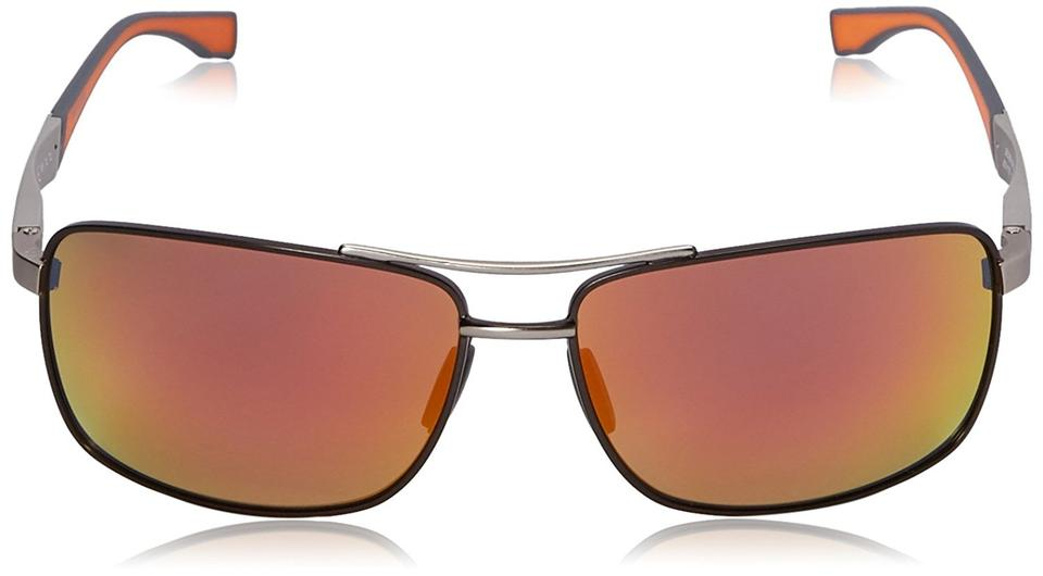 c5ee1353f2 Hugo Boss Ps Llg Ruthenium Red Model 0697 Mirrored Lens 63- Sunglasses -  Tradesy