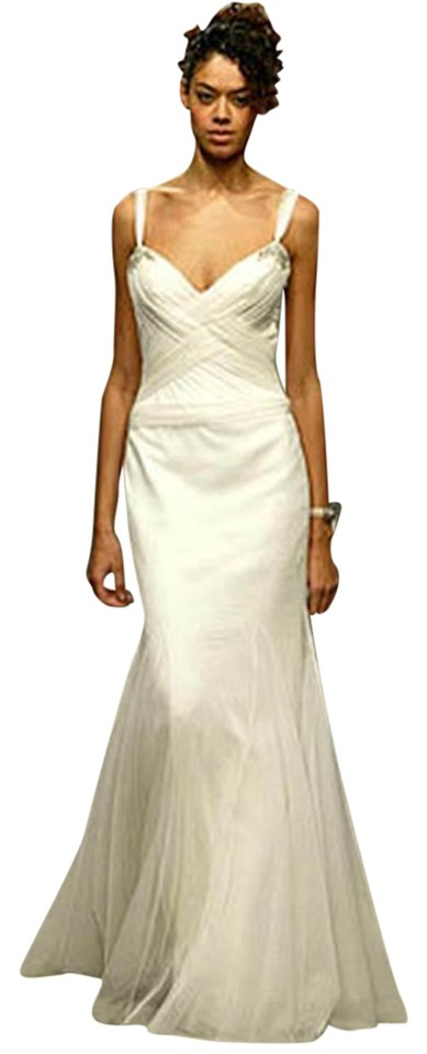 Vera Wang Off-white Spring 2004 Runway Wedding Gown Made For A ...
