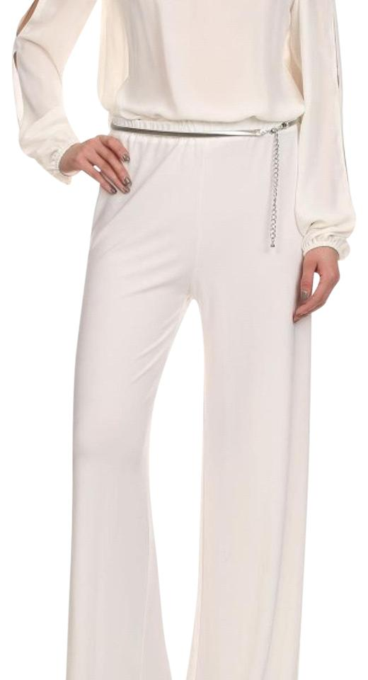 0cee1af0aa25 Ivory Off White Cold Shoulder Romper Jumpsuit - Tradesy