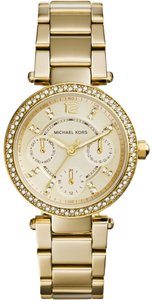 Michael Kors Gold-Tone Mini Parker Watch
