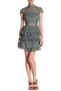Romeo & Juliet Couture Lace Ruffle Party Date Dress
