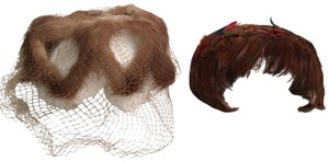 Other 2 Vintage Hats Mink & Feather