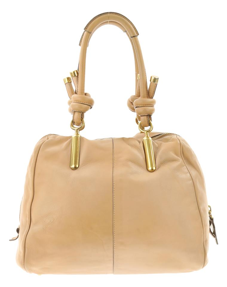 b45c69286430 Chloé Large Janet Brown Leather Satchel - Tradesy