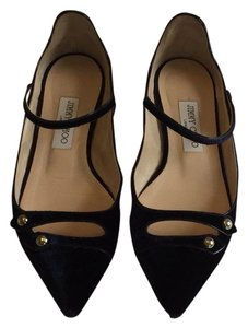Jimmy Choo navy Flats