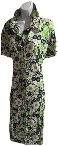 Peter Kaiser short dress navy green on Tradesy
