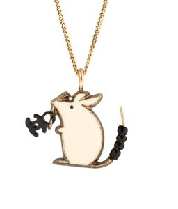 Chanel Rare CHANEL Baby Animals Necklace