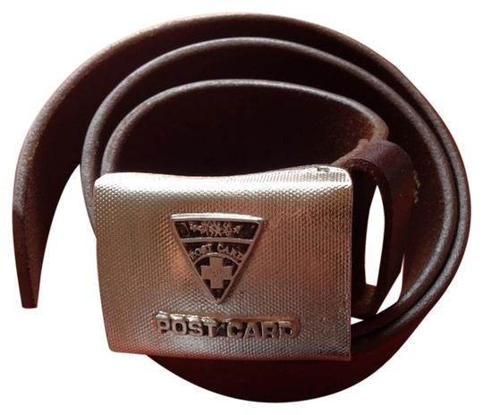 Preload https://item2.tradesy.com/images/post-card-post-card-brown-leather-belt-2274576-0-0.jpg?width=440&height=440