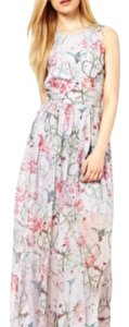 grey floral Maxi Dress by French Connection