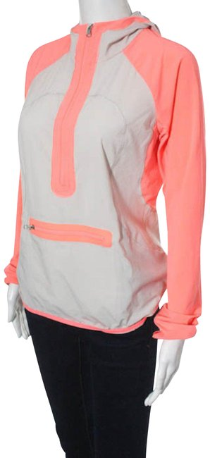 Item - Pink and Beige Lightweight Run Pullover Activewear Outerwear Size 4 (S, 27)