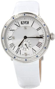 EFFY Roman Diamond 0.62 Tcw. Mother-of-Pearl Dial Ladies Watch