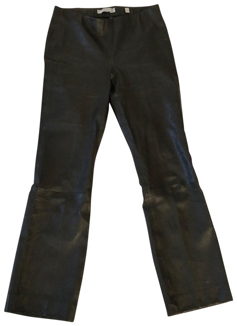 Item - Black Cropped Leather Pants Size 4 (S, 27)