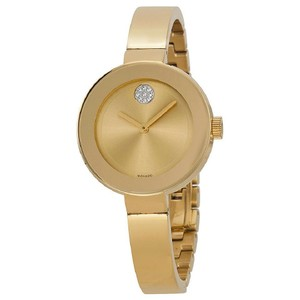 Movado Bold Champagne Ladies Watch