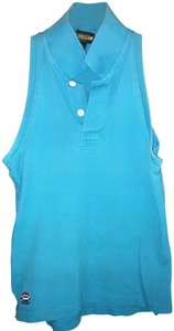 Rugby Ralph Lauren Sleeveless Polo Top Blue
