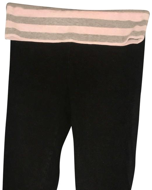 Item - Black/Pink Fold Over Top Activewear Bottoms Size 2 (XS, 26)