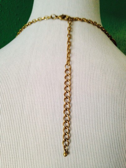 Other NWOT Antiqued Gold-Tone Double Strand Link Necklace