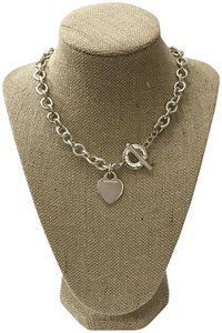 Tiffany & Co. Tiffany & Co. Heart Tag Toggle Necklace Sterling Silver Chain Choker