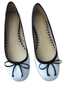 Saks Fifth Avenue White Flats