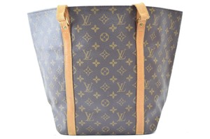 Louis Vuitton Lv Monogram Tote in Brown