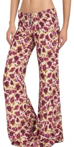 Novella Royale Flare Pants Wine Rose