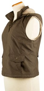 Sonoma Removable Hood Faux Sherpa Lining Vest