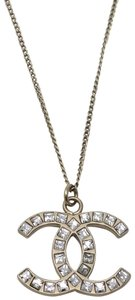 Chanel Chanel interlocking CC Crystal Necklace