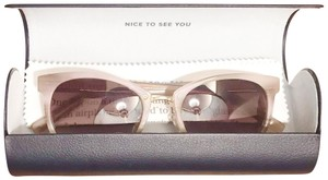 Warby Parker Tansley in Pale Rose Horn with Brown Gradient lenses