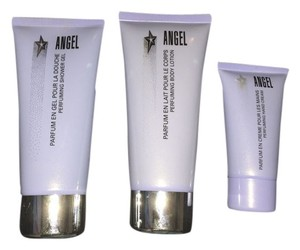 Angel by Thierry Mugler Angel shower gel,body lotion and hand cream