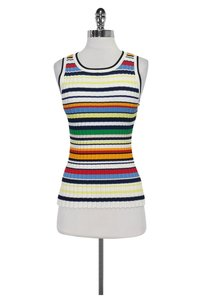 MILLY Color Striped Top Multi