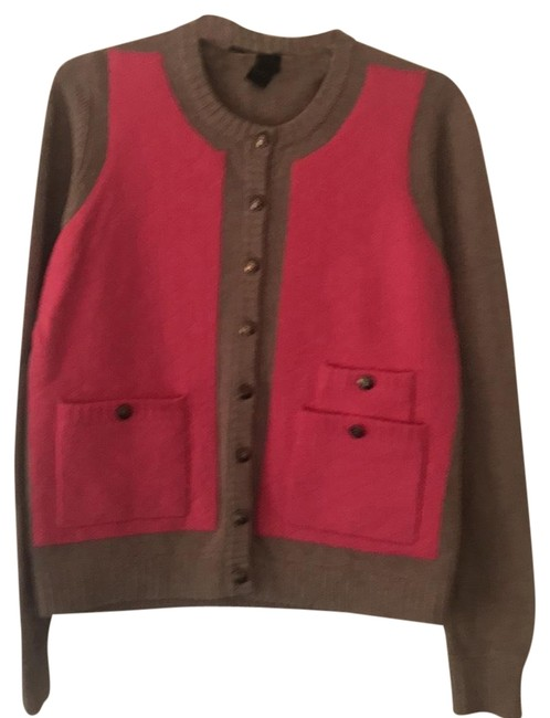 marc by marc jacobs oatmeal with pink quilted vest 103927 sweater pullover size 8 m tradesy. Black Bedroom Furniture Sets. Home Design Ideas