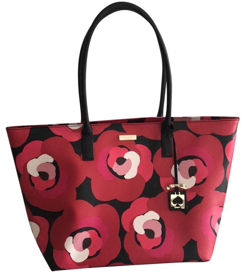 dad00e18cd3432 Kate Spade Black Bag With Red Flowers | Stanford Center for ...