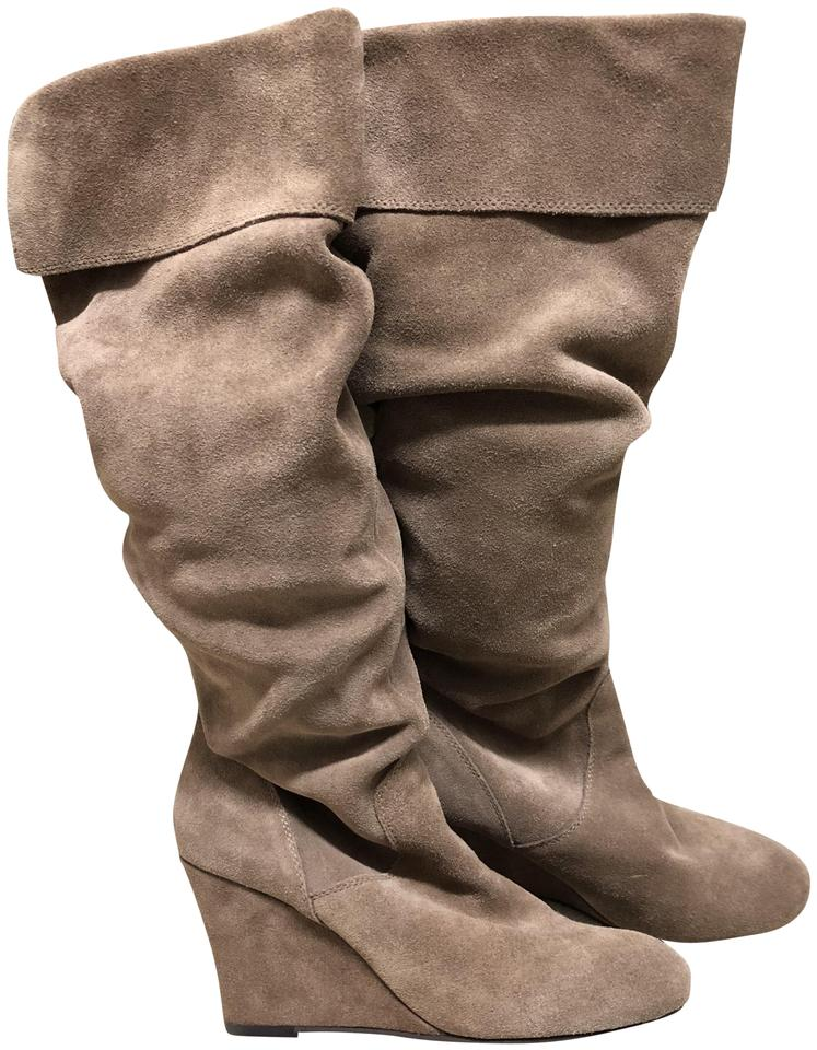 39195a7a58b Steve Madden Tan Suede Relaxed Boots Booties Size US 8.5 Regular (M ...