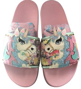 Irregular Choice pink Sandals