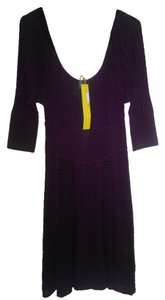 Catherine Malandrino Knit Pointtle Sweater Dress