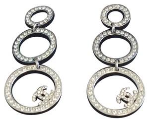 Chanel Chanel Crystal Earrings