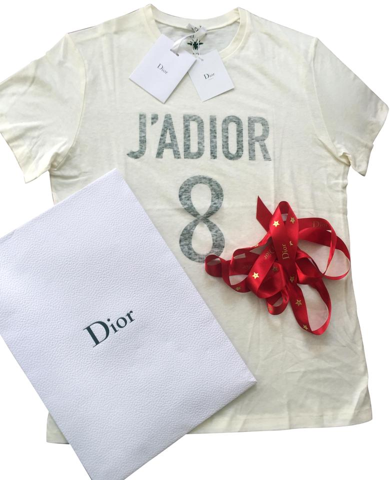 c352b0ad Dior Off-white Sold Out Cruise 2018 Logo Tee Shirt Size 8 (M) - Tradesy