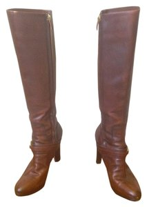 Ralph Lauren Riding Polo Prl Brown Boots