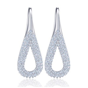 Other Swarovski Crystals Pave Set Earrings