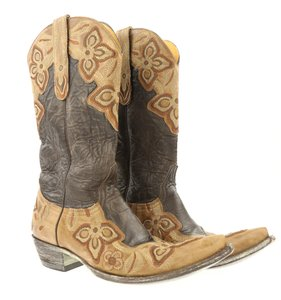 Old Gringo Distressed Leather Cowgirl Embroidery Western Brown Boots