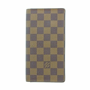 Louis Vuitton Authentic Louis Vuitton Damier Ebene Porte Cartes Credit Billfold