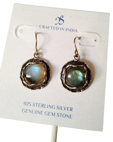 Preload https://item1.tradesy.com/images/js-collections-bluesilver-labradorite-cabochon-in-sterling-earrings-2275135-0-0.jpg?width=440&height=440