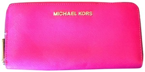 MICHAEL Michael Kors Michael Michael Kors Jet Set Saffiano Leather Continental Wallet