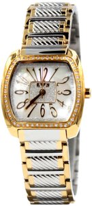 EFFY Diamond White Dial Unisex Watch