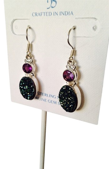 Preload https://item5.tradesy.com/images/js-collections-greenpurple-nwot-greenpurple-drusy-crystal-and-faceted-amethyst-in-sterling-silver-ea-2275179-0-0.jpg?width=440&height=440