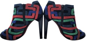 Pierre Hardy Geometric Pop Art Black with blue, green & red Boots