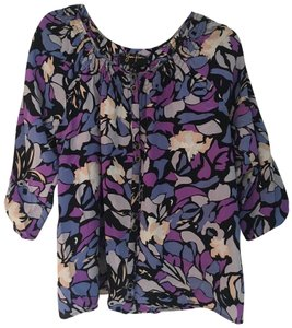 Yumi Kim Silk Top Purple