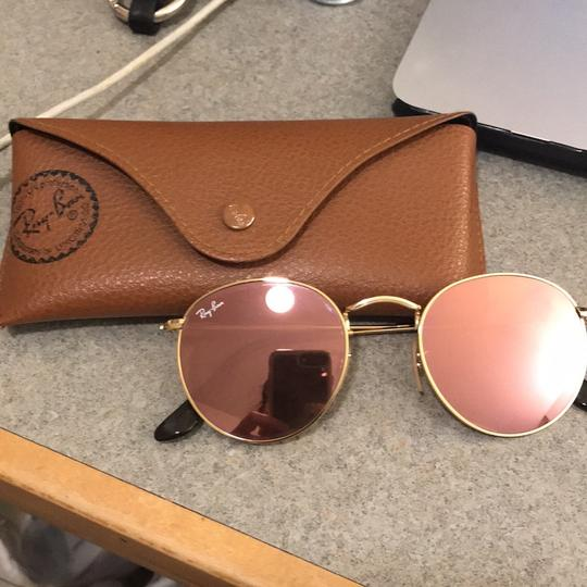a1afc554ef Ray Ban Round Flat Lenses Copper Flashing