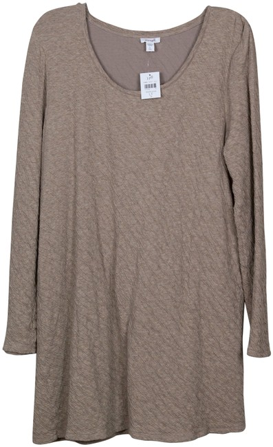 Item - Taupe Large Tall Tunic Size 14 (L)